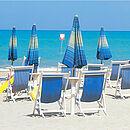 ein Bild eines Strandes in Abruzzen in Italien