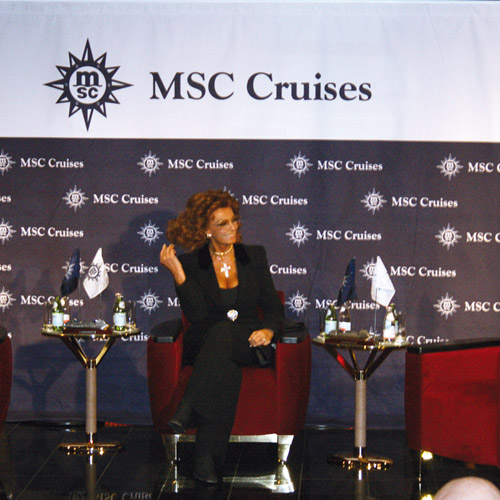 MSC – Schiffstaufe in Dover